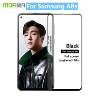 For Samsung A8S Original MOFi 9H Full Cover Tempered Glass Screen Protector Film for Samsung Galaxy A8S Toughened Glass