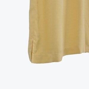 Image 4 - 8 farben 100% Seide Mann Hemd UNS größe Einfarbig Floral Männer Casual Shirt Camp Kurzarm drehen unten kragen Plus große Sommer
