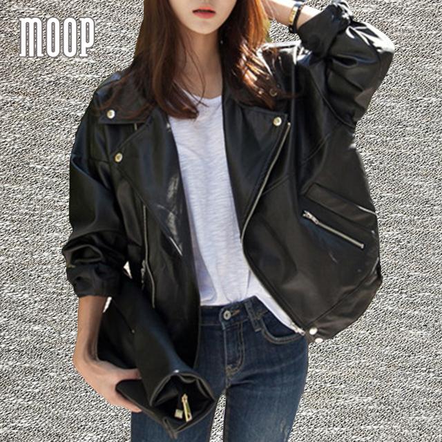 Primavera moda oversize preto jaquetas de couro genuíno jaqueta de couro de pele de carneiro jaqueta de couro casaco veste en cuir femme LT1192