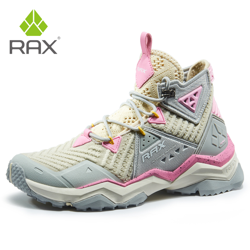 RAX Women Hiking Boots Summer Outdoor Sneakers For Women Light Trekking Shoes Breathable Outdoor Walking Jogging Shoes Women