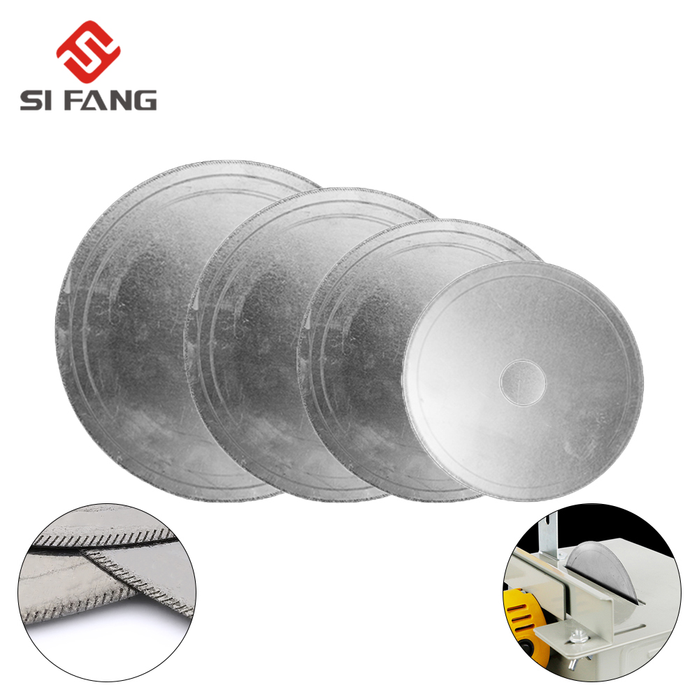 110/150/180/200MM Diamond Lapidary Saws Trim Blade Super Thin Edge Wet Cutting Disc Jewellery Tools For Glass Stone Or Rock
