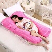 Nursing Pillow for Pregnant Women Breastfeeding Pillow Pregnancy U Shape Maternity Belly Contoured Waist Support Cushion 130*70