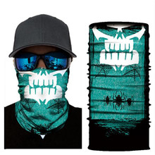 Biker Bandanas (5 pcs/lot) AC345-AC352 Outdoor Hat Cycling Turban Head Scarf Sports Face Mask