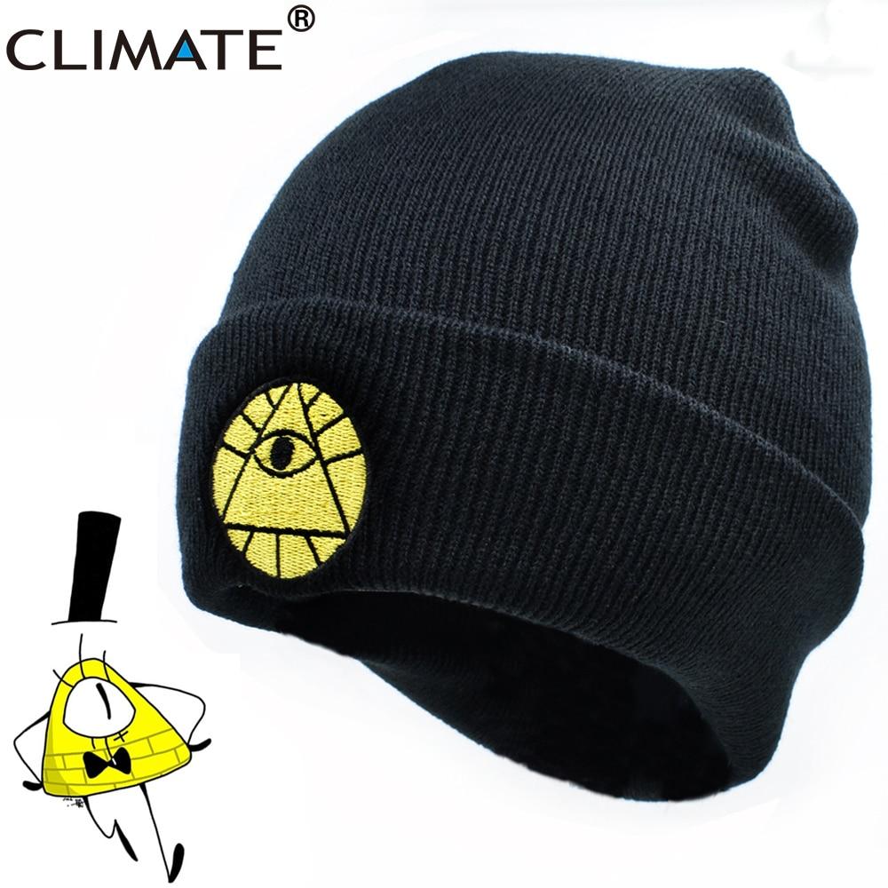 Климат законопроект Диппер Мейбл шапка зимняя шляпа с рисунком героев из мультфильмов с зимняя теплая вязаная шапочка для маленьких мальчи...