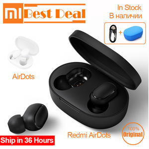 Xiaomi Earphone TWS Headset Earbuds Handsfree Airdots Bluetooth Touch-Control for Redmi