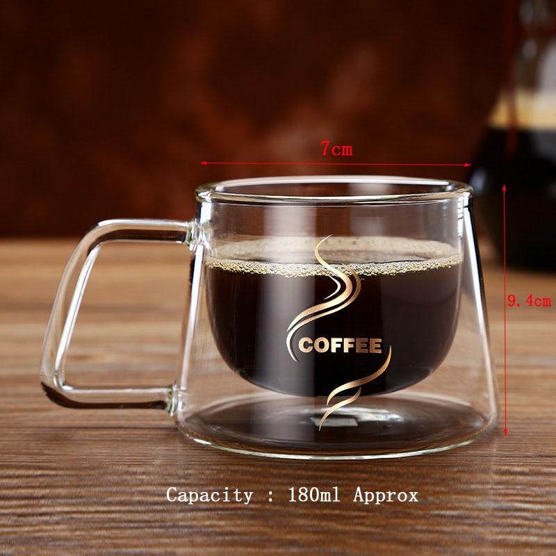 Gllead Clic Gl Coffee Mug High Borosilicate Double Layer Fashion Home Office Tea In Mugs From Garden On Aliexpress Alibaba