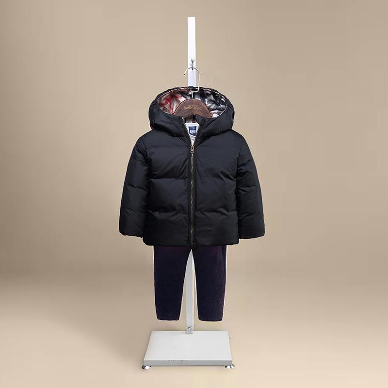 New brand winter down coat boys girls children hooded design thick add children s clothing baby