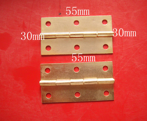 50pcs 55*30mm Brass Hinge Plated Rectangle Square Hinge Wholesale Wooden Box Case Cabinet Ambry Home Furnitures Embellishments 50pcs 22 46mm antique hinge wooden box hardware accessories metal hinge special jewelry box wholesale even the wire hinges