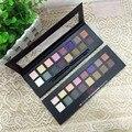2016 Recién Llegado de Marca Maquillaje Sombra De Ojos Set Caja De Papel 16 Pigmento de Color de Sombra de Ojos Sombra de Ojos Mate Shimmer Maquillaje Paleta