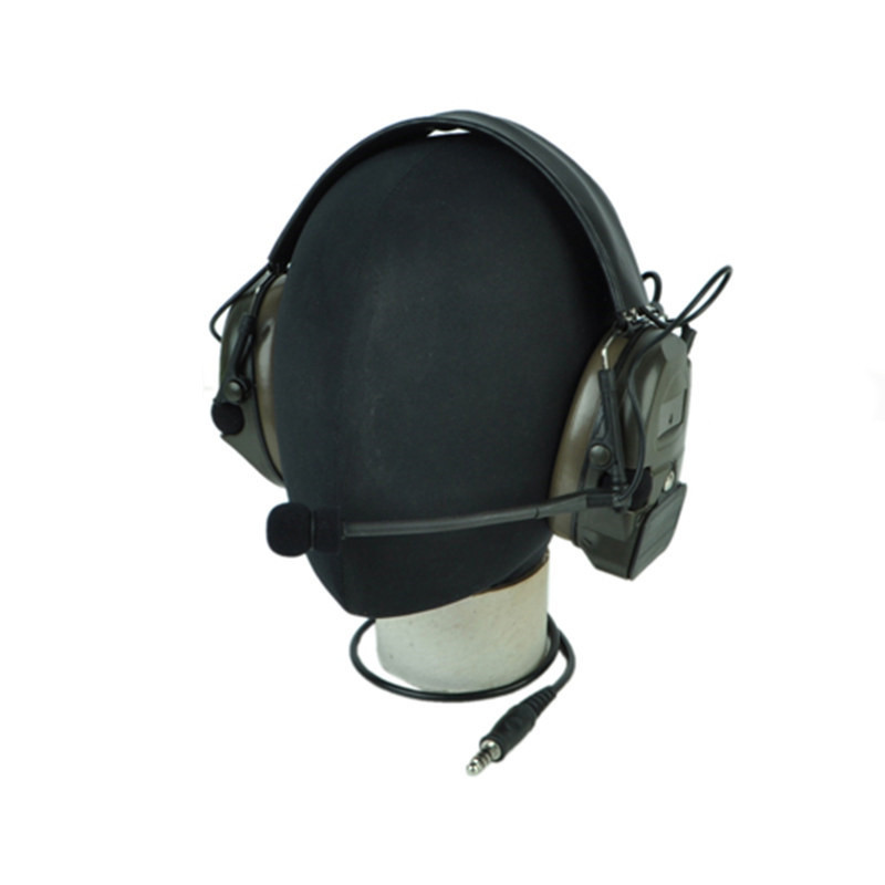 Z-Tactical Noise Reduction Headset Comtac IPSC Style Tactical Hunting Shooting Protective Earphone for Airsoft Military z tactical noise reduction headset comtac ipsc style tactical hunting shooting protective earphone for airsoft military radio