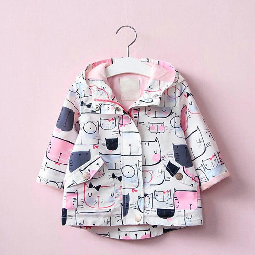 Babyinstar nuevo disfraz de Boutique 2018 para niños chaqueta con capucha abrigos para niñas pequeñas trajes de diseño Casual Tops para niños