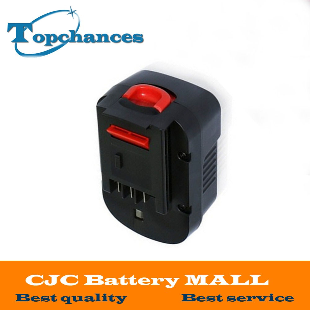 <font><b>14.4V</b></font> 2000mAh NI-CD Replacement Power Tool <font><b>Battery</b></font> For Black&Decker 499936-34, 499936-35, A144, A144EX, A14, A14F, HPB14 image