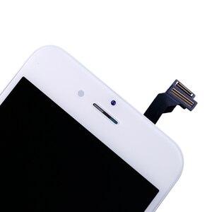 Image 2 - AAA + + + איכות עבור iPhone 5 5S 6 6s 7 LCD תצוגת מסך מגע עבור 4 4S 8 בתוספת SE 100% חדש לגמרי LCD Digitizer מזג + מתנות