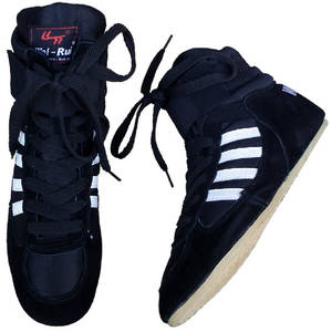 c64a491261 Bull leather men Wrestling Shoes for men women boxeo W0II