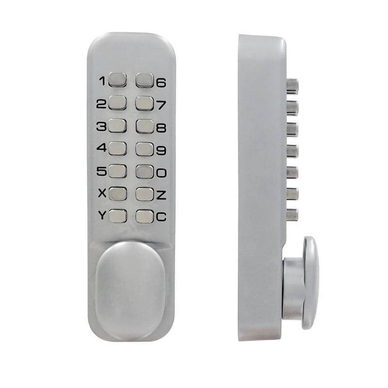 Waterproof Keyless Smart Door Lock Mechanical Code Keypad Password Security Lock Hardware Electronic Lock for Outdoor