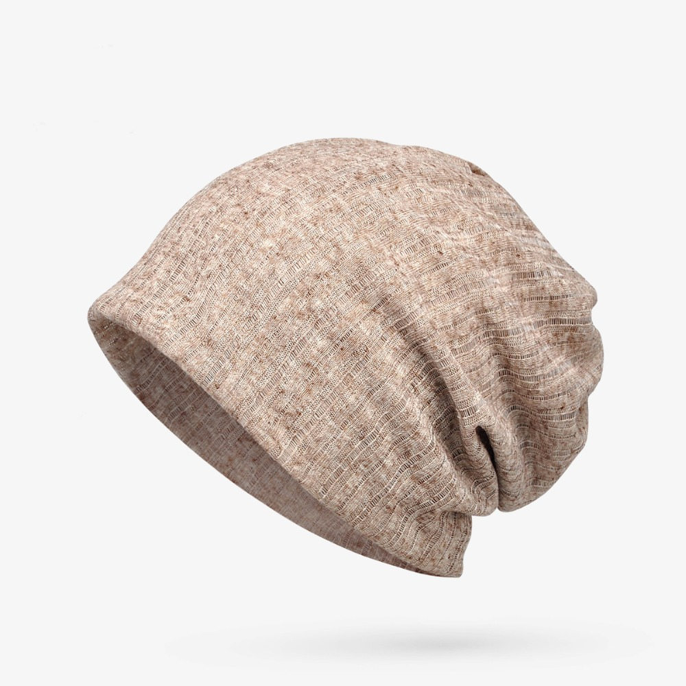 5 Colors Summer Thin Breathable Hollow   Skullies     Beanies   Knit Caps For Men Women Sport Cotton Hedging Cap Gorro Bonnet Turban Hat