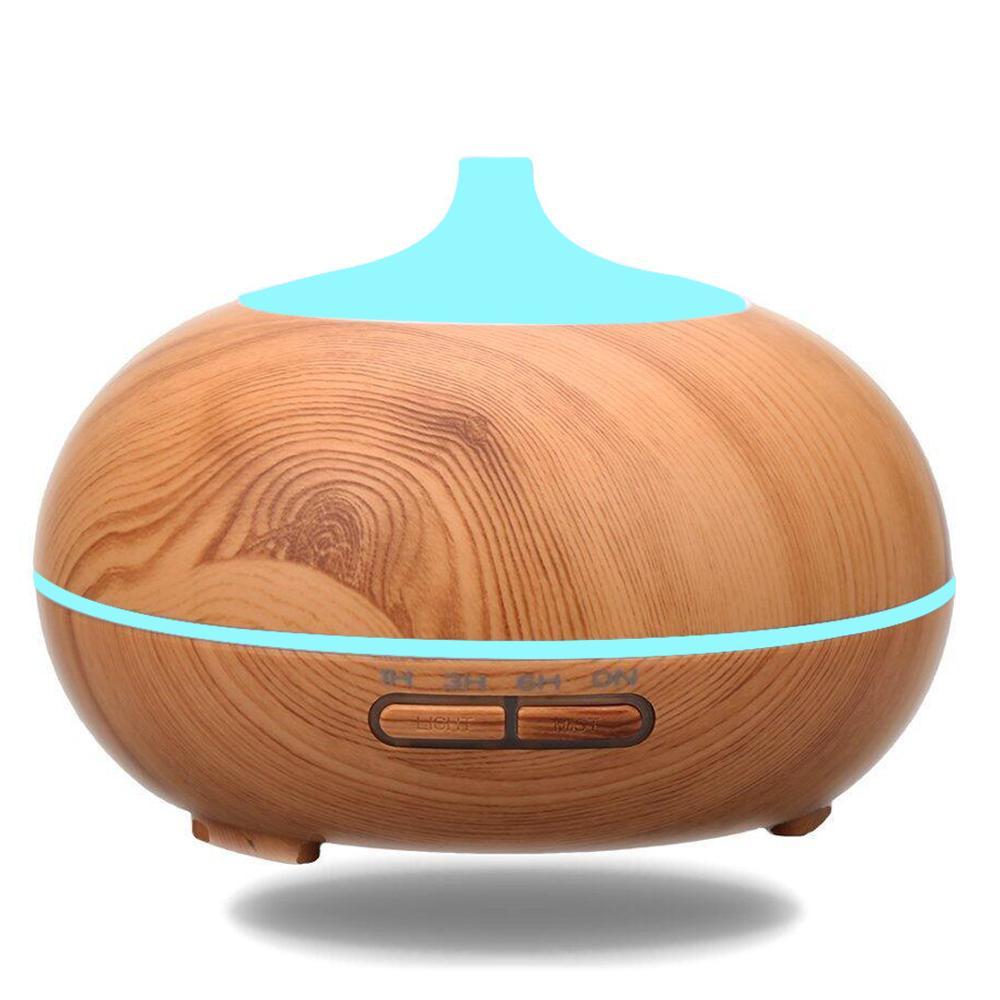 Где купить Vvec 300 мл арома-диффузор эфирного масла ультразвуковой увлажнитель воздуха Difuser с 7 светодиодами для изменения цвета