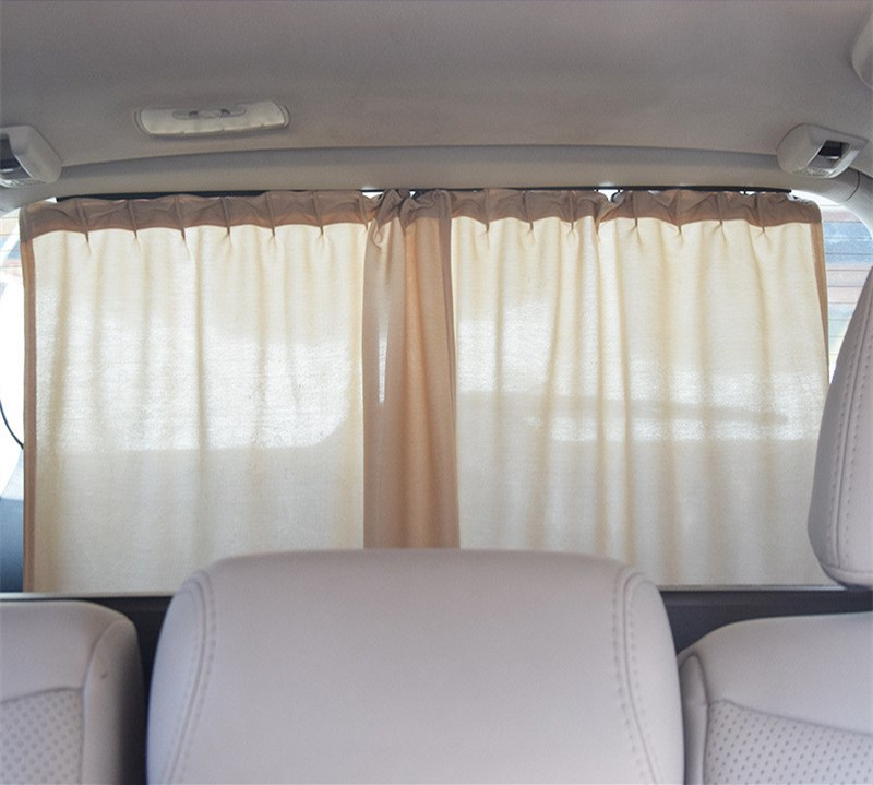 2pcs NEW 50XL Aluminum Alloy Elastic car Rear windshield Window ...