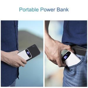 Image 5 - CASEIER 10000mAh Power bank Portable Charging LED Display Powerbank External Battery For iPhone Samsung Xiaomi Huawei Phone
