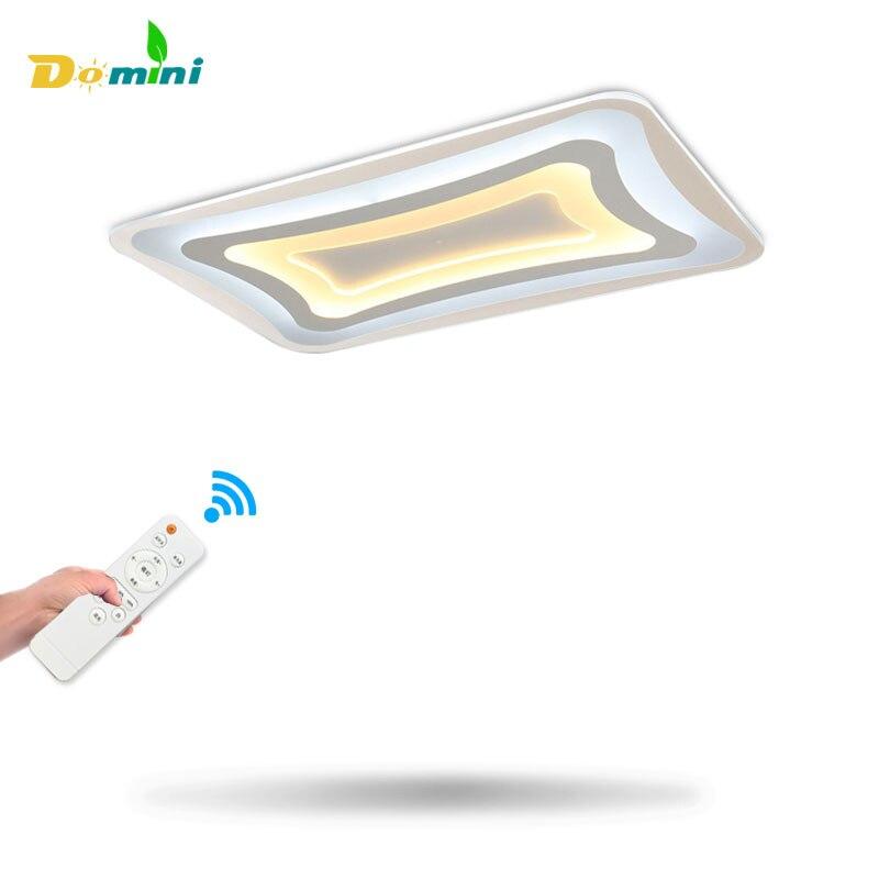 New Energy Efficien LED Ceiling Light Square Ceiling Rectangle living room lamp Modern LED Home Luxury Decor acrylic lighting