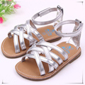 2016 summer 0-2 year old girl first walk shoes fashion silver and gold color lovely baby girl summer shoes shoes baby 544