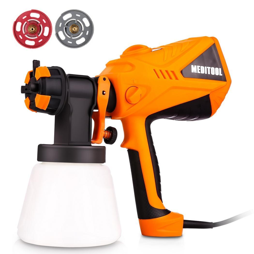 600W Electric Paint Spray Gun Outdoor Fence Painting Tools  High Power Home Electric Easy Spraying Clean Perfect