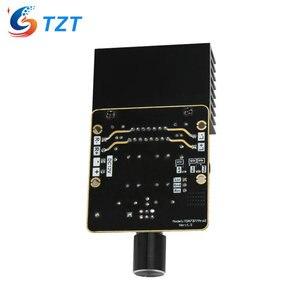 Image 2 - Placa amplificadora TZT TDA7377 DC12V, Clase AB, tarjeta amplificadora de coche, 35W + 35W, doble canal, bricolaje, Kit de amplificador de Audio