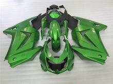 Индивидуально изготовленный обтекатель для Kawasaki Ninja 08-14 EX250 2008-014 ZX 250R темно-синий мотоциклетный послепродажный обтекатель kit02