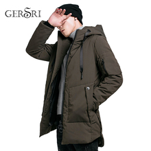 Gersri Winter Thick Warm New Cotton Jacket Hip Hop Casual Men Wild Hooded High Quality Top Plus size high quality jacket