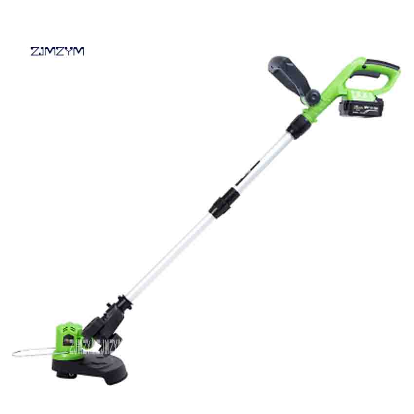 ZJMZYM New Garden Pruning Tools CT-20GR Lawn Mower 20V Electric Hedge Trimmer Portable Home Wireless Charging Grass Trimmer