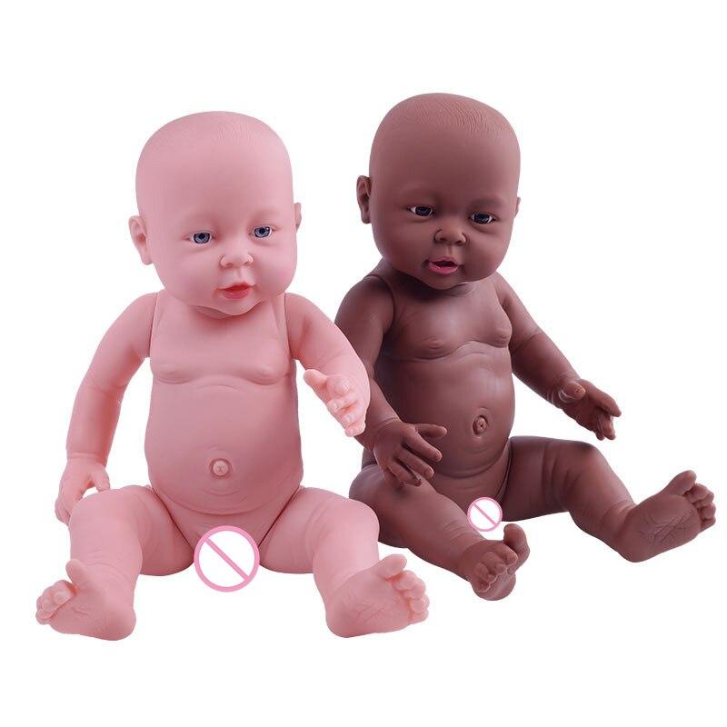 High quality New 41 Cm Baby Simulation Doll Soft Child Reborn Baby Doll Toy Newborn Boy Girl Birthday Gift Emulated Dolls