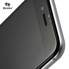 Benks 7 / 7Plus 3D Curved Full Screen Protection 0.4mm 9H AGC Tempered Glass Mobile Phone Protector Film for iPhone 7 plus Black