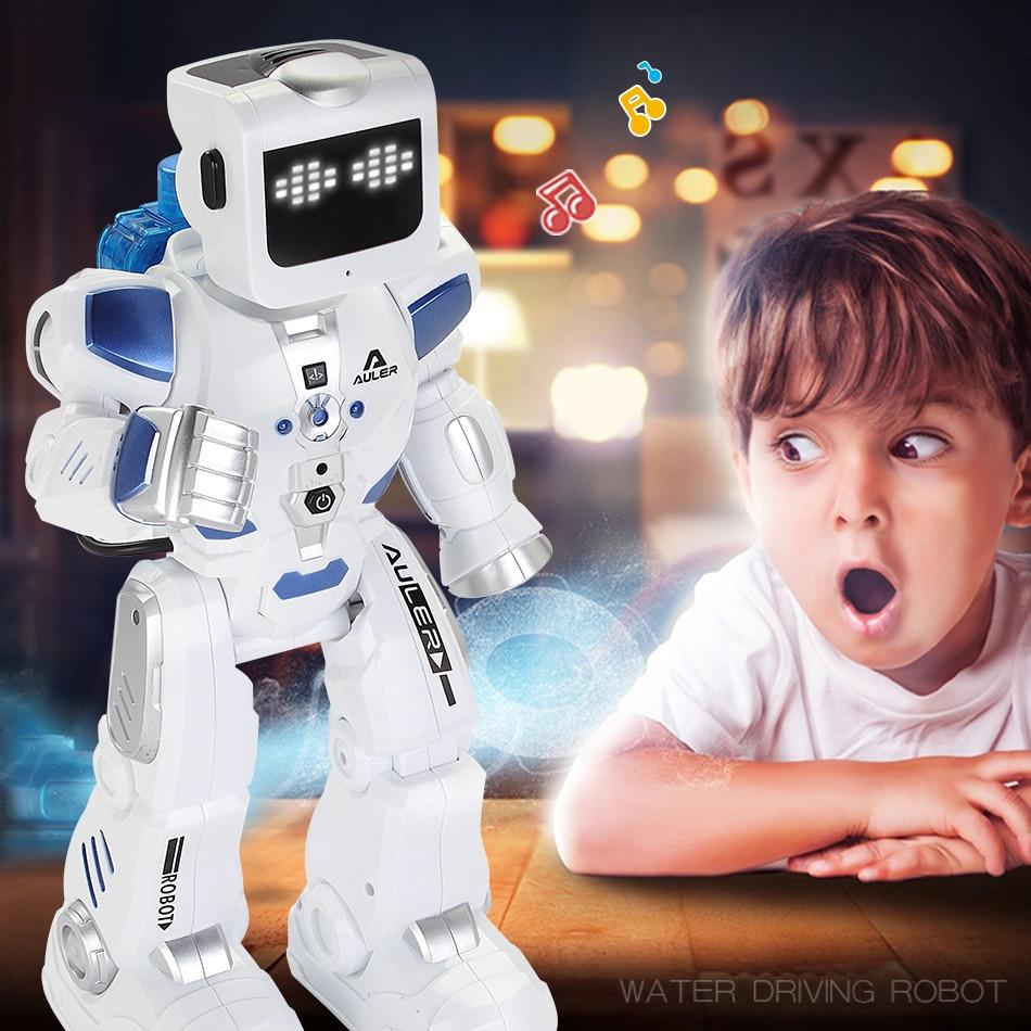 D'eau Au Volant Danse RC Robot Avec Anglais Musique Intelligente Télécommande Figurines Jouets Pour Enfants Enfants Cadeau D'anniversaire - 5