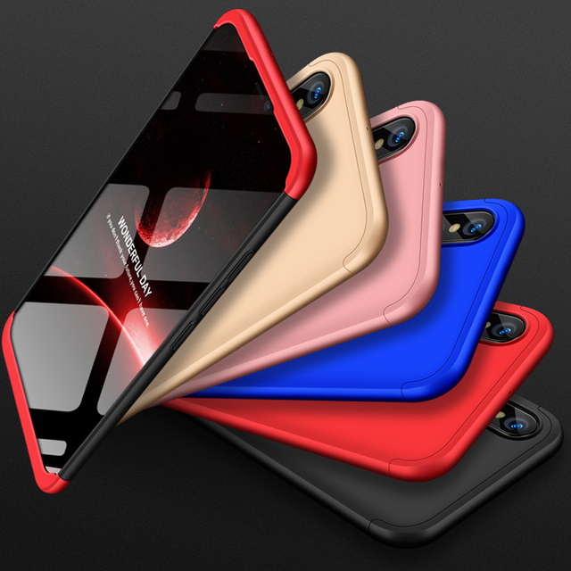 huge discount 695ef 6202a US $2.99 15% OFF|For Huawei P20 lite Case P20 lite Hard Cover PC Matte 360  Full Protection Bumper Case for Huawei P20 lite Nova 3e Cover Back -in ...