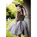 Girls Ballet Vestidos de Disfraces de Halloween Monstruo Negro Robe Dress Up Globo Vestidos Niñas Vestidos De Adolescentes