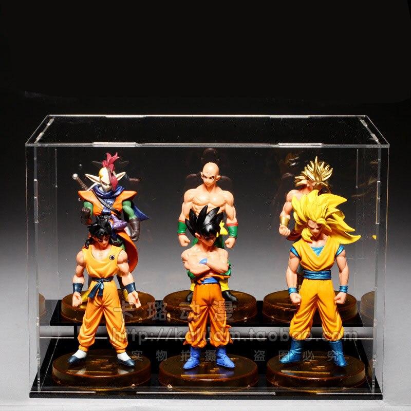 five figurine Dragon Ball Super Saiyan GT Toy Vegeta Broli Goku Gogeta action Figures Toys for Children Gift Kids toy