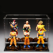 five figurine Dragon Ball Super Saiyan GT Toy Vegeta Broli Goku Gogeta action Figures Toys for Children Gift Kids toy