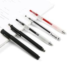 3/4/6/7PCS KACO Black Gel Pen 0.5mm Office Pen Signing Pen Roller Pen