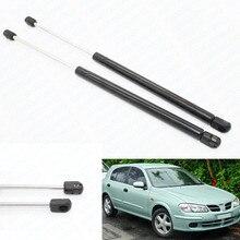 2pcs Auto Tailgate Boot Gas Struts Shock Struts Damper Lift Supports for Nissan Almera ll N16 2000-2002 2003 2004 2006 Hatchback