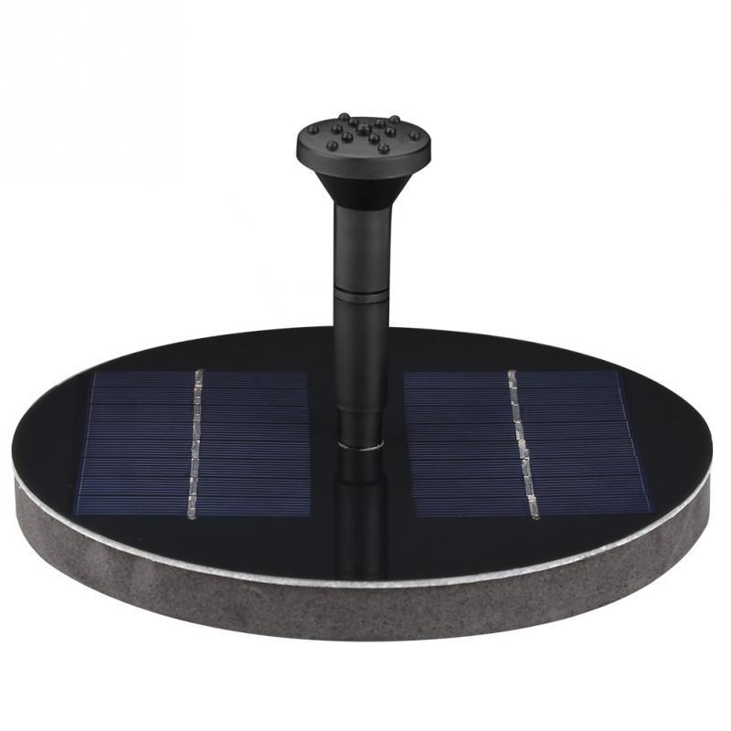1,6 Watt 200l/h Solar Power Schwimm Brunnen Wasserpumpe Für Garten Teich Pool Fisch Werkzeuge Zubehör ZuverläSsige Leistung