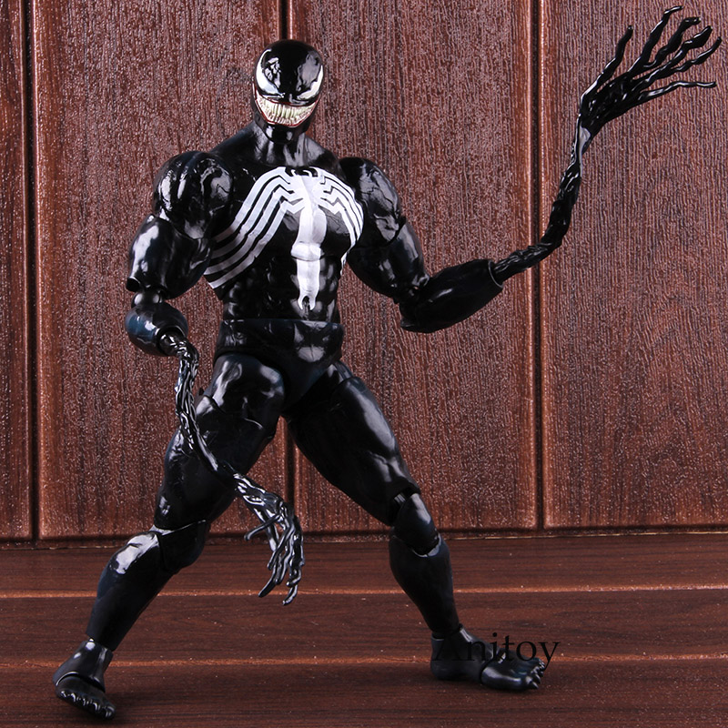 Play Arts Kai 1//6TH Marvel Comics Universe Venom Collectible PVC Action Figure