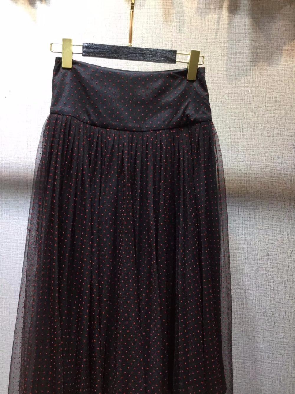 Europeo Ah0381 Pista De 2019 Ropa Faldas Estilo La Marca Fiesta Diseño Lujo Famosa Mujeres Moda Las 7rwrd0