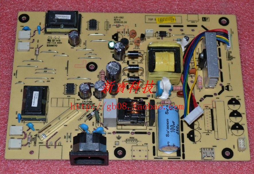 Free Shipping>Original 49136400200R ILPI-092  V193 V203H X203W X223W Power Board-Original 100% Tested WorkingFree Shipping>Original 49136400200R ILPI-092  V193 V203H X203W X223W Power Board-Original 100% Tested Working