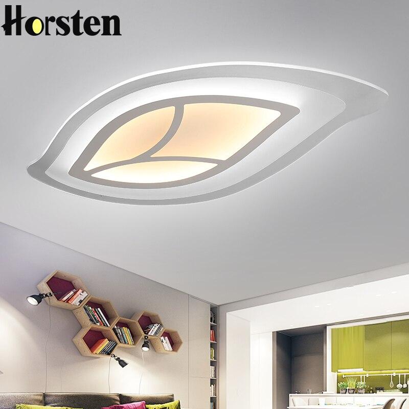 Aliexpress Com Buy Modern Acrylic Leaf Ceiling Lights