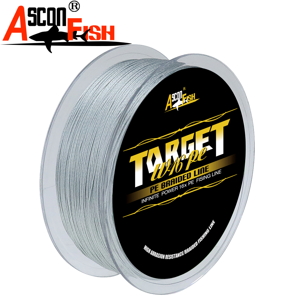 Image 4 - Ascon Fish 16 Strands Braided Fishing Line 300m for Cord Fishing Capr 16 Braids Multifilament Line20 500LB Green-in Fishing Lines from Sports & Entertainment