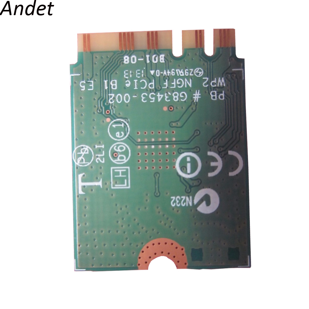 Original for Intel Wireless N +BT4 0 Combo Wifi Card For
