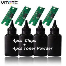 4х Тонер-порошок с чипами для Ricoh SP150 SP150su SP150w SP150suw SP150 su SP150 w SP150 suw SP 150