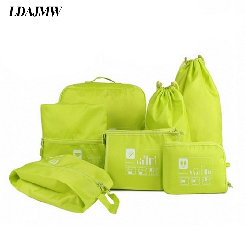 LDAJMW Ceļojumu somiņa Tualetes piederumu soma Uzstādiet drēbes - Mājas uzglabāšana un organizēšana