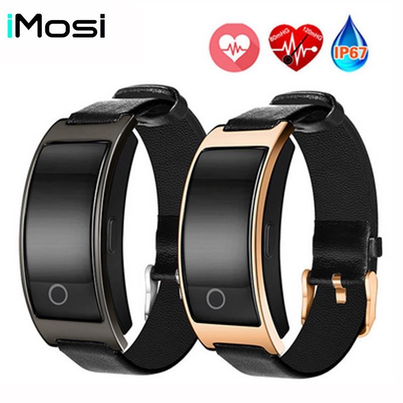 Imosi CK11S Smart Band Blood Pressure Watch Blood Oxygen Heart Rate Monitor Smart Bracelet Fitness Watch IP67 Smart Wristband