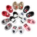 Bigodes romirus moda borla mocassins bebê eu amo papai mamãe bebê prewalkers primeiro walkers do bebê sapatos de couro pu